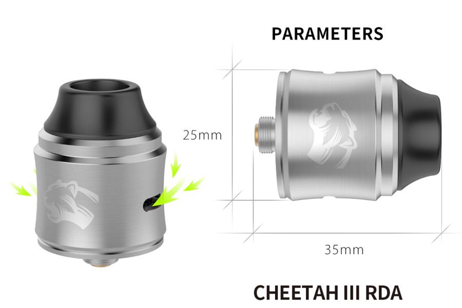 OBS Cheetah 3 RDA - 25mm (www.e-smoke.sk)