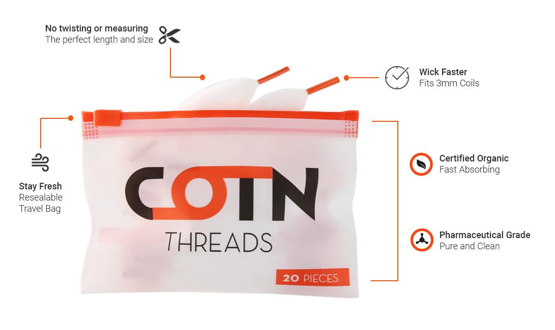 cotn threads_cotn organicka bavlna (www.e-smoke.sk)