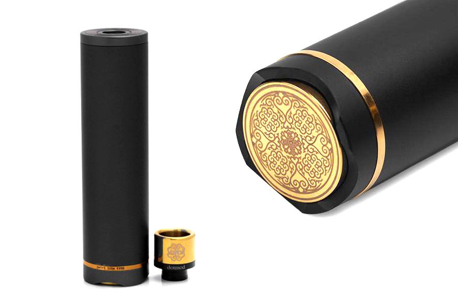 Dotmod Petri Lite 24mm V2 - Black edition mechanická trubka (www.e-smoke.sk)