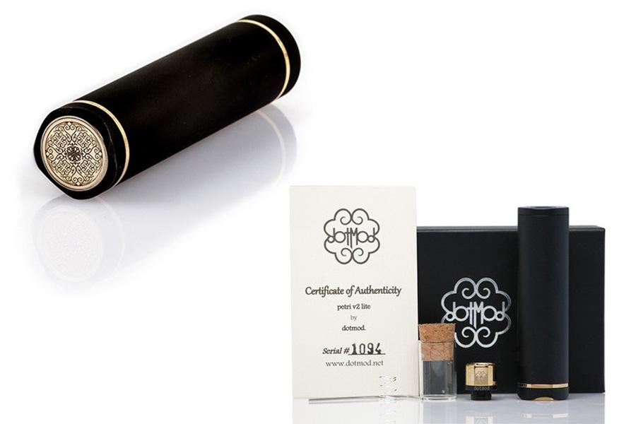 Dotmod Petri Lite 24mm V2 - Black edition mechanická trubka