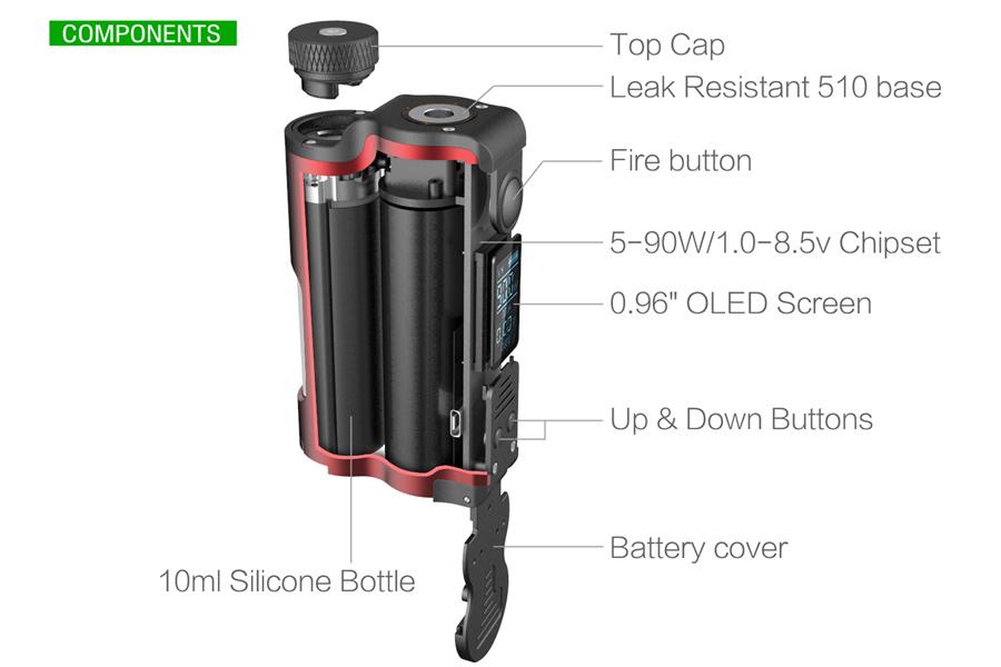 DOVPO Topside 90W SQUONK MOD (e-smoke.sk)