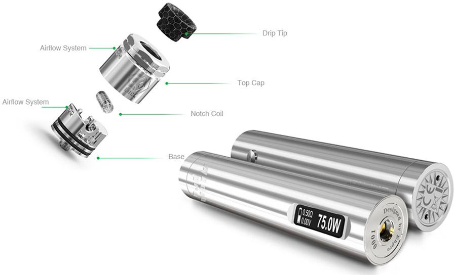 Ehpro MOD 101 Pro sada (www.e-smoke.sk)