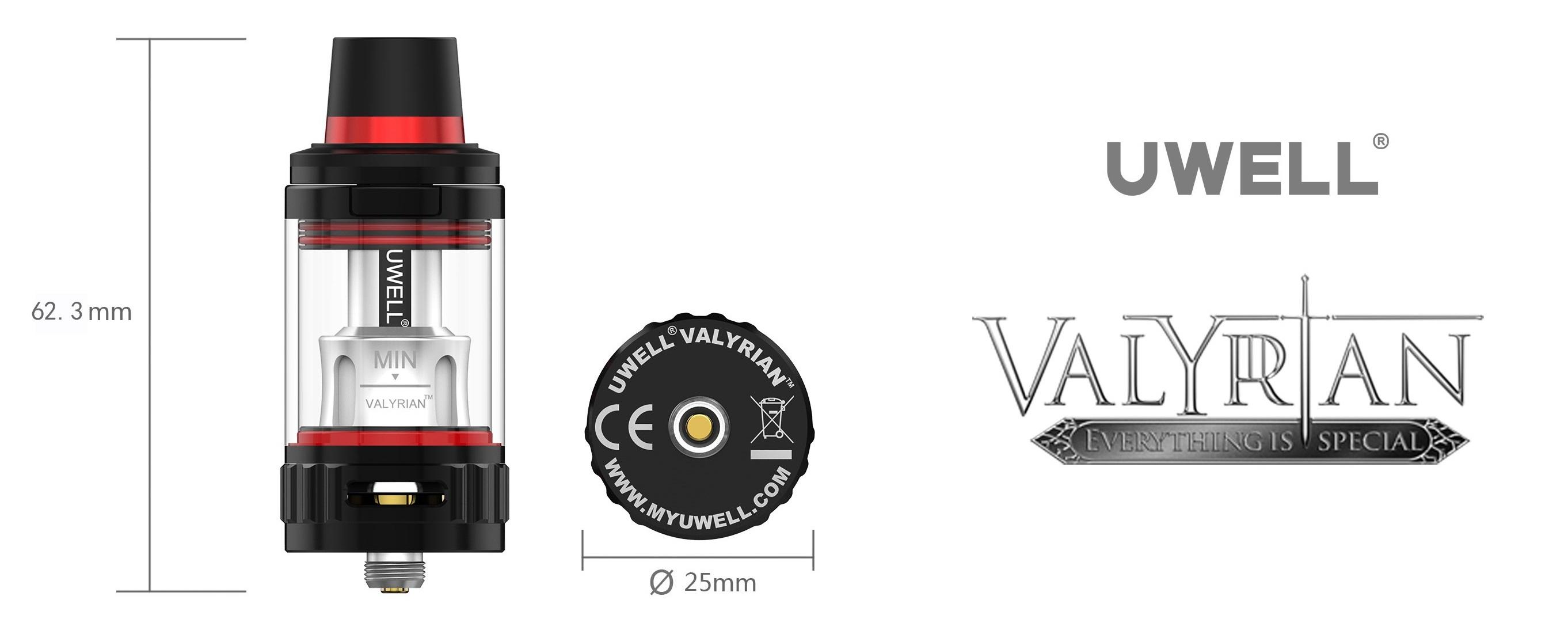 Uwell Valyrian Atomizer (www.e-smoke.sk)