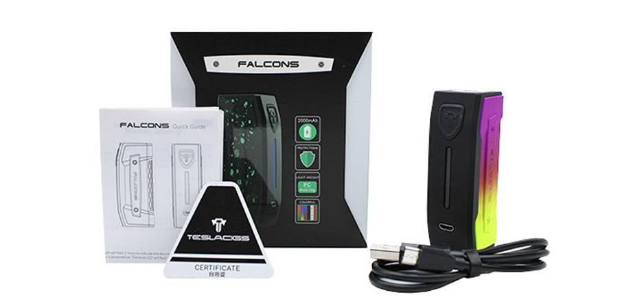 TESLACIGS Falcons MOD 2000mAh (www.e-smoke.sk)