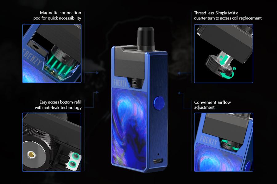 GeekVape Frenzy POD system (www.e-smoke.sk)