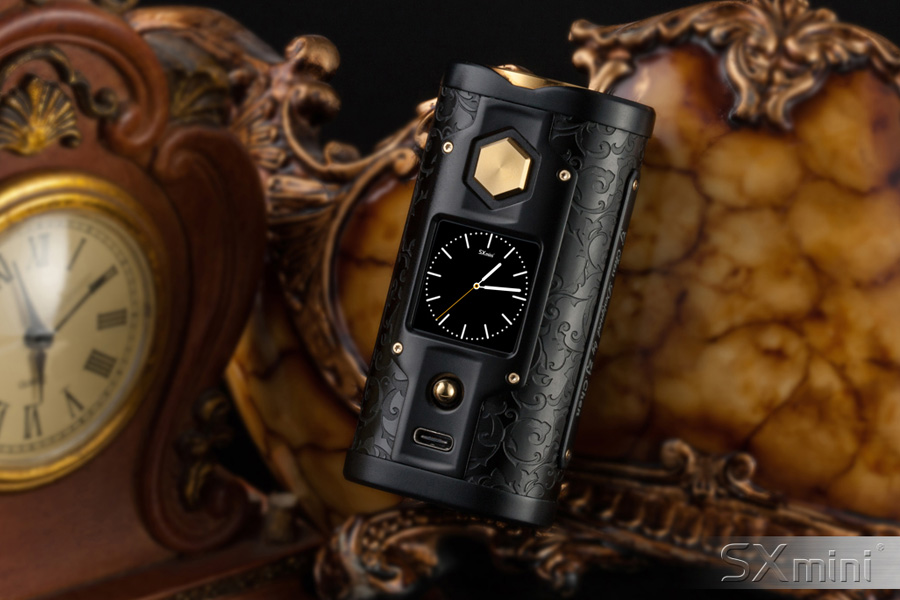 SXmini G Class - špeciálna edícia Black Golden (www.e-smoke.sk)