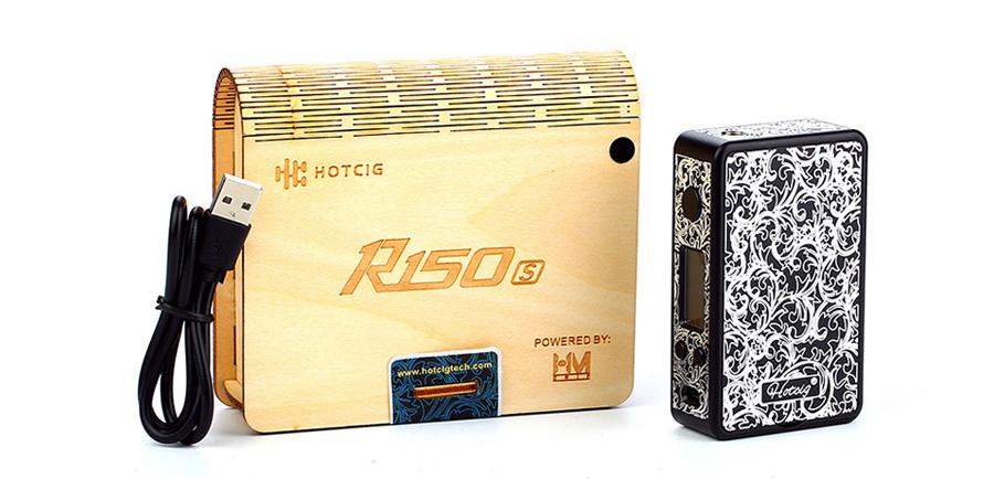 HOTCIG R150 S Box MOD 150W (www.e-smoke.sk)