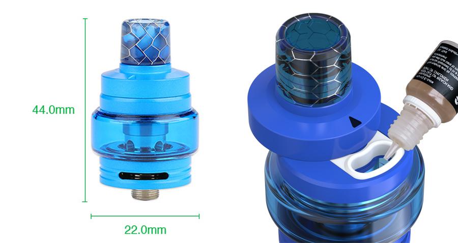 joyetech Exceed Air plus atomizer (www.e-smoke.sk)