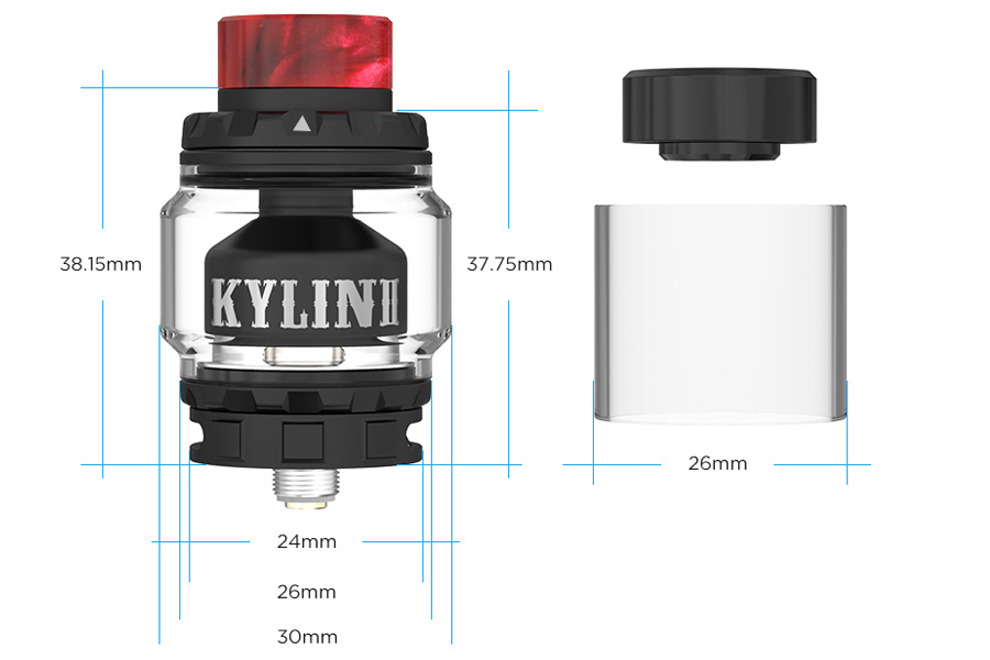 Vandyvape Kylin II RTA (www.e-smoke.sk)