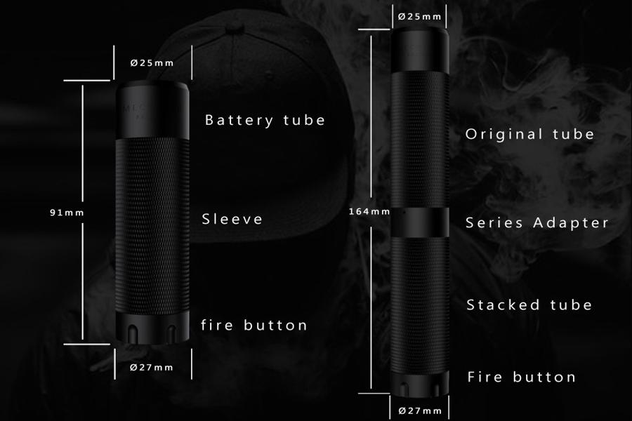MECHLYFE ARCLESS MECH MOD (e-smoke.sk)