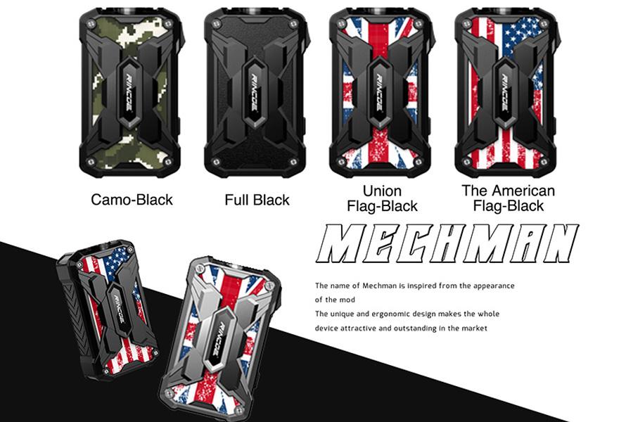 Rincoe Mechman 228W TC Box MOD (www.e-smoke.sk)