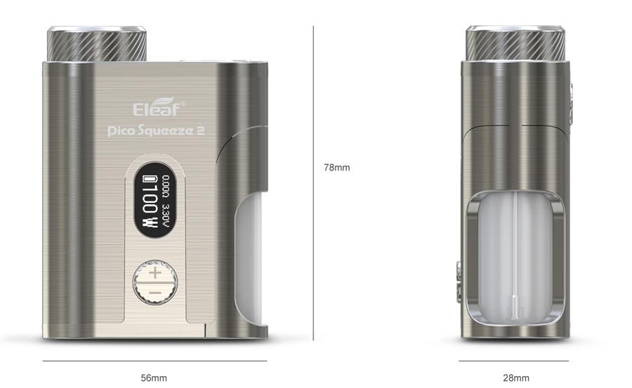Eleaf Pico Squeeze 2 100W squonk MOD (www.e-smoke.sk)