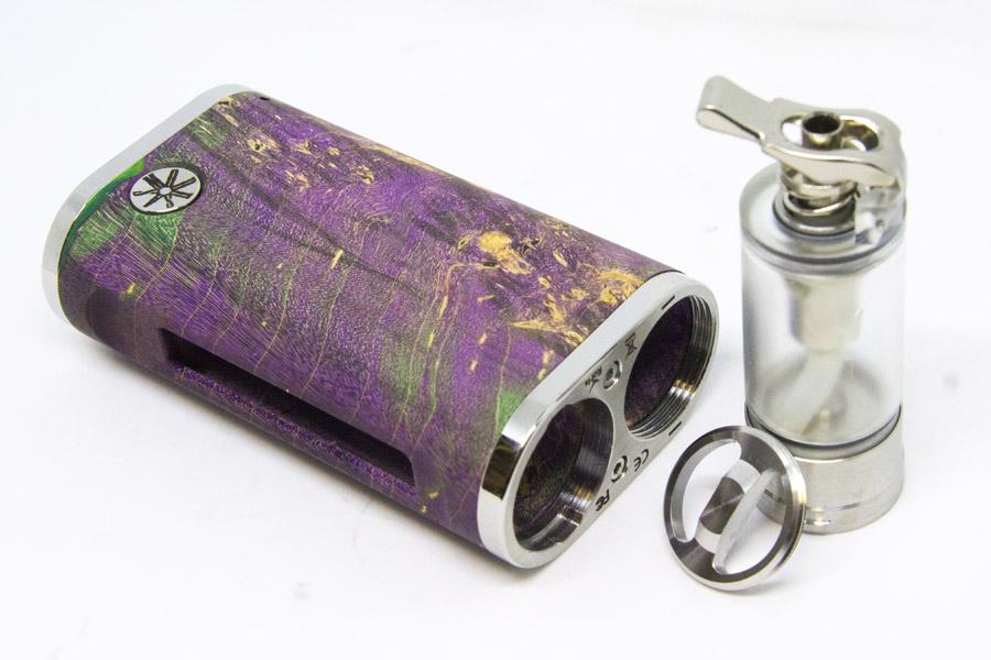 asMODus Pumper 18 Squonk Stabwood Box Mod - e-smoke.sk