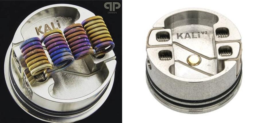 QP Design Kali V2 RDA / RSA (www.e-smoke.sk)