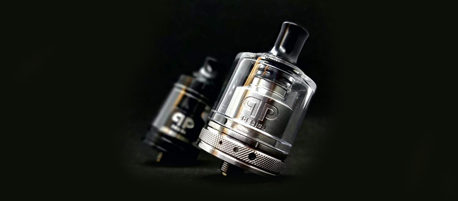 qp Design Gata RTA - 24mm, 2ml/4ml (www.e-smoke.sk)