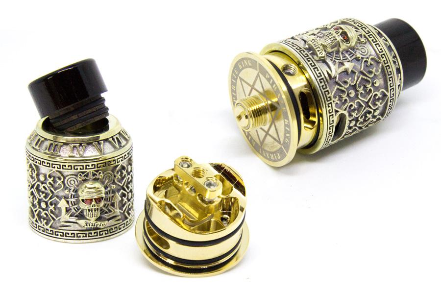 riscle pirate king RDA silver (www.e-smoke.sk)