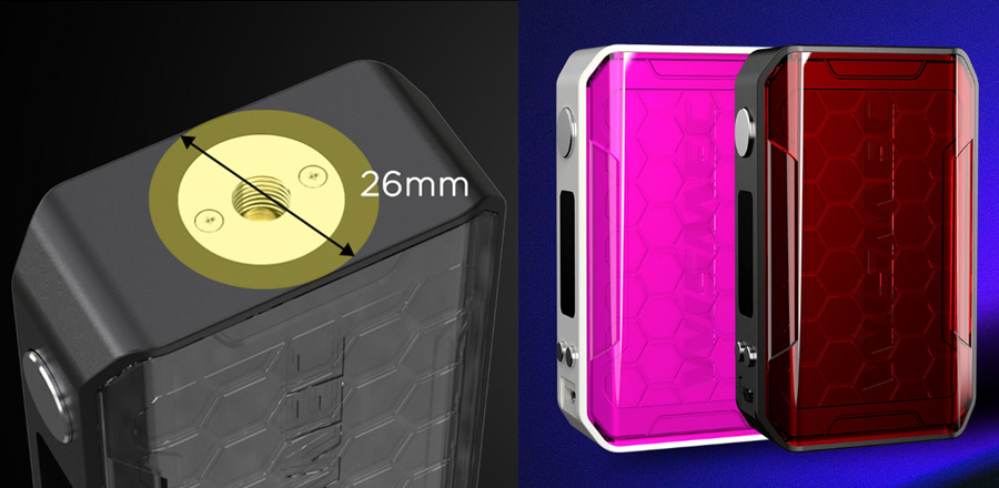 Wismec Sinuous V200 TC Box MOD (www.e-smoke.sk)