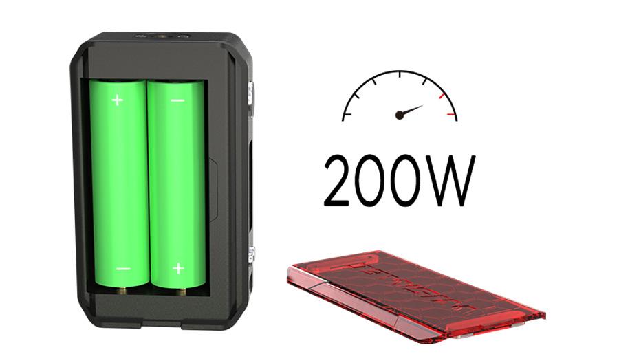 Wismec Sinuous V200 TC Box MOD (www.e-smoke.sk)