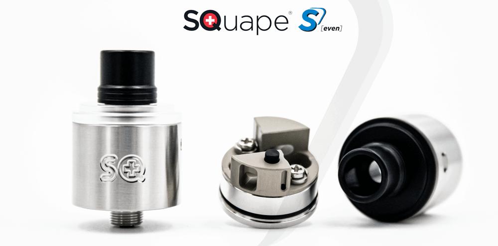 The SQuape S[even] www.e-smoke.sk