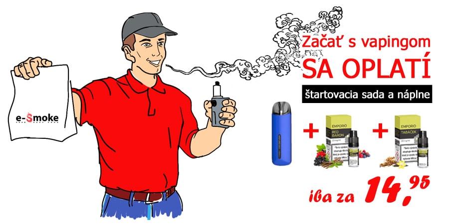 esmoke startovacia sada pre zaciatocnikov (www.e-smoke.sk)