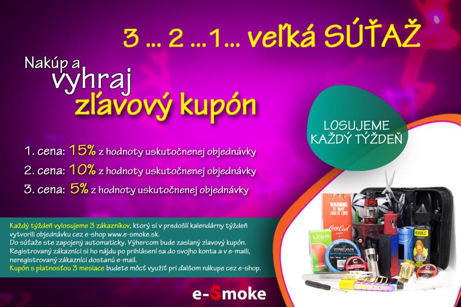 velka sutaz na e-smoke (www.e-smoke.sk)