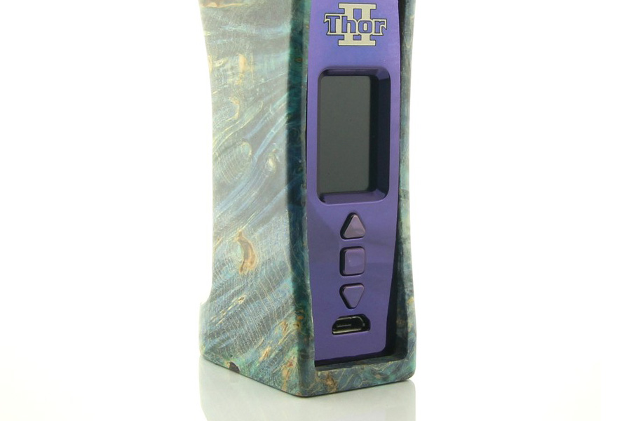 Ultroner THOR II DNA 75W Stabwood Box Mod (www.e-smoke.sk)