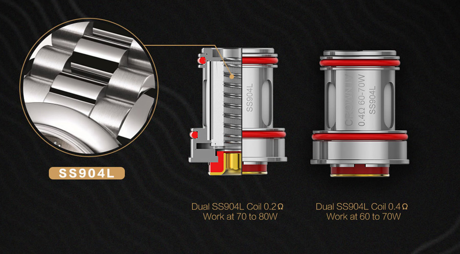 Uwell Crown IV Checkmate - 6ml atomizer (www.e-smoke.sk)