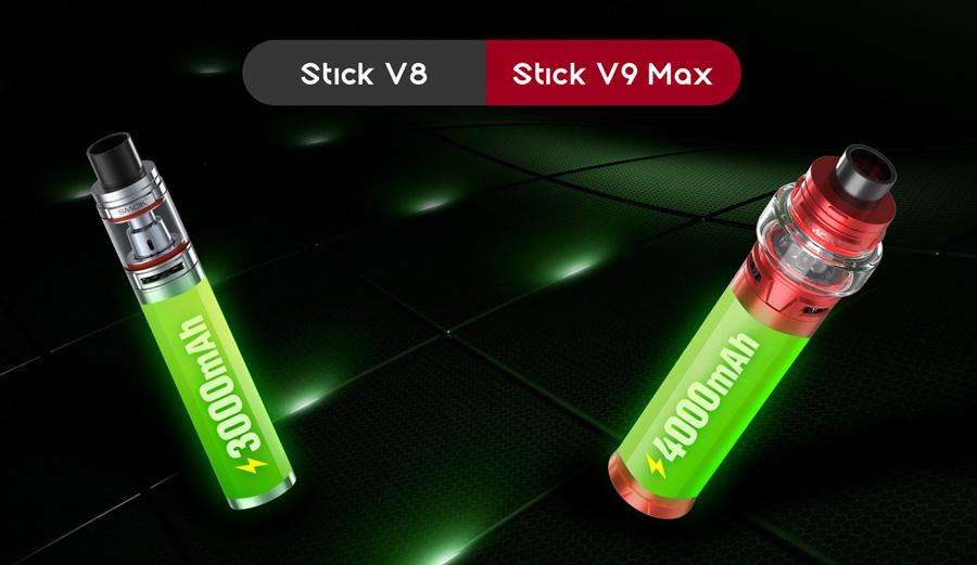 SMOK Stick V9 Max 4000 mAh elektronická cigareta (www.e-smoke.sk)