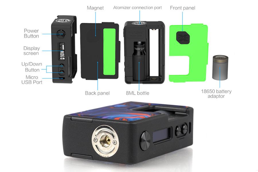 vandyvape pulse X bf mod (www.e-smoke.sk)