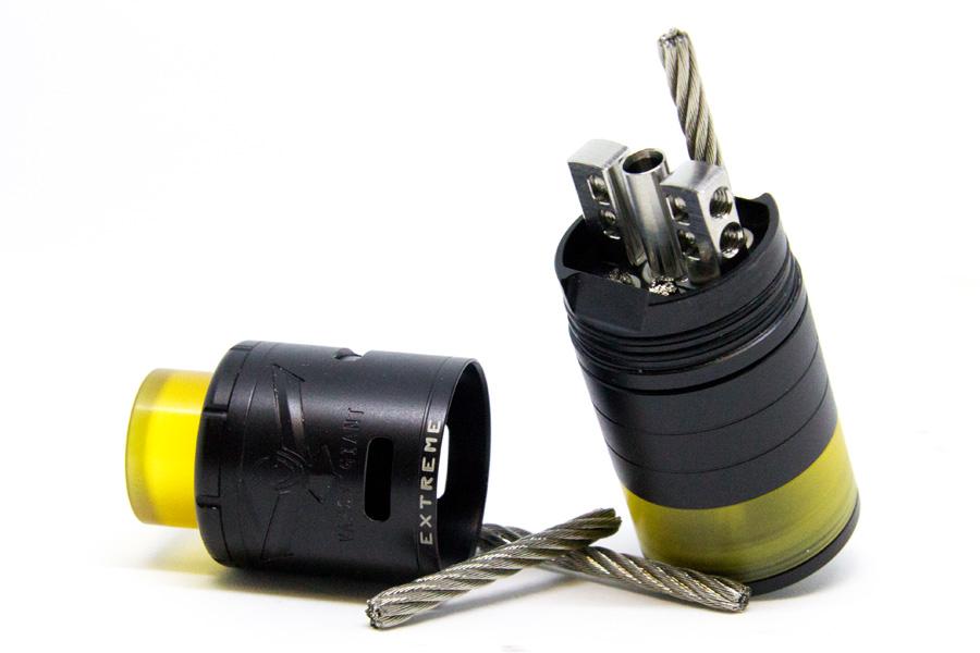 Vapor Giant Extreme RDTA 23mm Black Edition (www.e-smoke.sk)