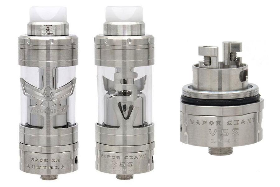 vapor giant V5 S 23 mm silver (www.e-smoke.sk)