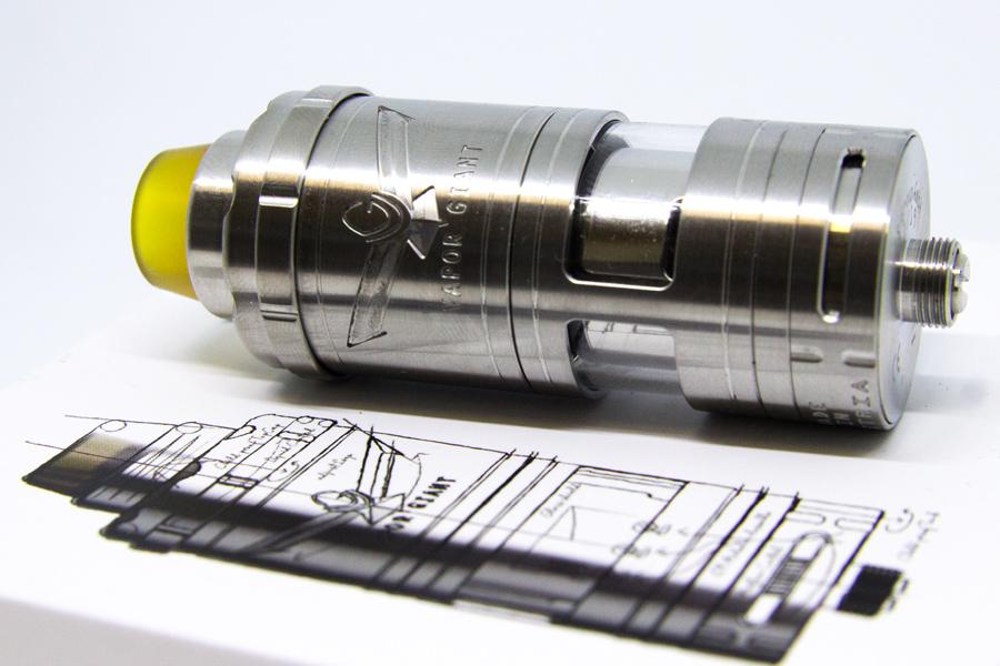 Vapor Giant V6 S 23mm (www.e-smoke.sk)