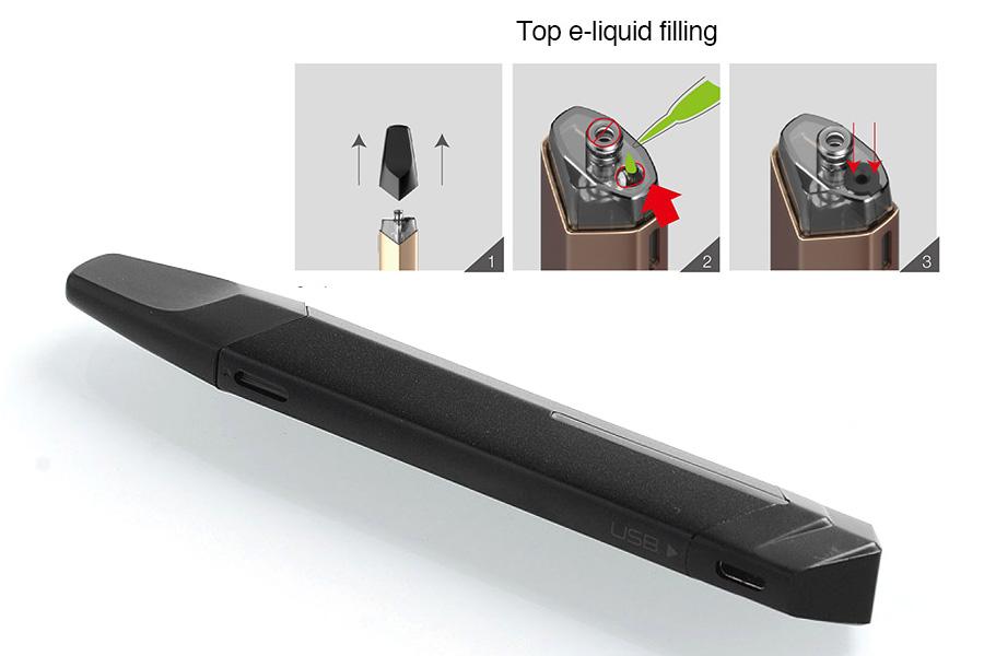 vaptio solo-flat pod system (www.e-smoke.sk)