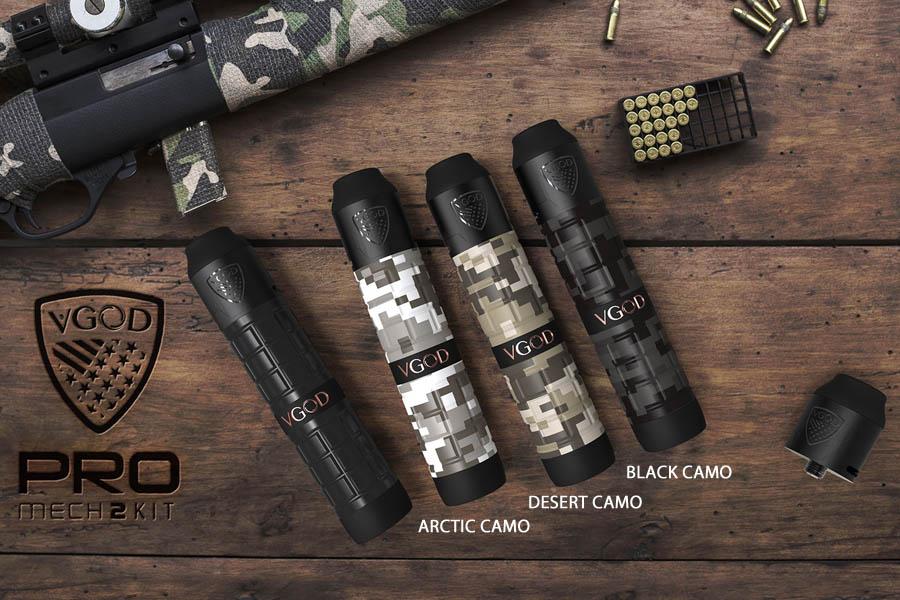 Vgod Mech Kit 2 Camo edicia (www.e-smoke.sk)