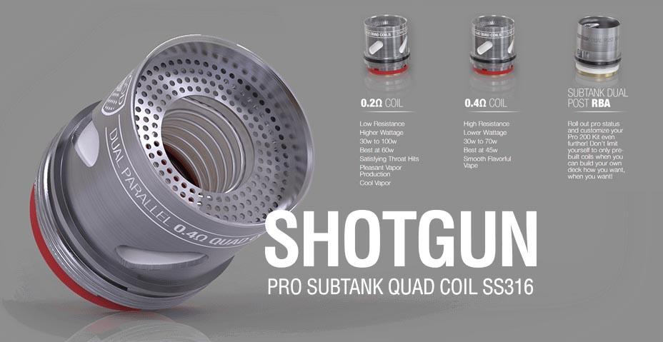 Vgod Subtank shotgun coil (www.e-smoke.sk)