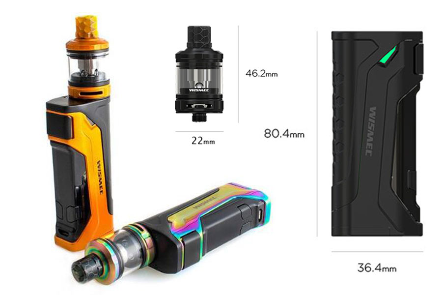 wismec CB-80 sada s Amor NS Pro (www.e-smoke.sk)