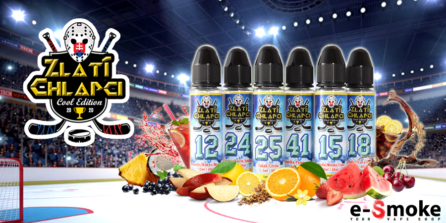zlati chlapci cool edition by e-smoke (www.e-smoke.sk)